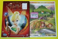 Disney DVD Lot - Tinker Bell and the Lost Treasure (New) Pixie Hollow Games (New