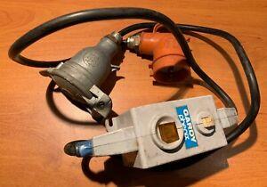 Interrupteur différentiel 250v 10A GARDI PHENIX 2 prises MARTIN LUNEL (H3)