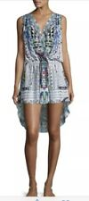 Camilla Franks Maasai Mosh Crossover High Low Dress With Crystals XS. BNWT.
