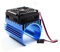 Hobbywing Ezrun C4 5V Cooling Fan & 44 x 65mm Motor Heat Sink System 1/8 RC Car