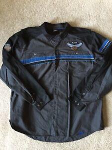 Harley Davidson 115th Anniversary button up shirt NWOT men's 4XL