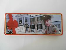 Elvis Presley Russell Stover Candy Tin, 1998, EPE Official Product, Graceland