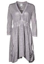 ♥ OBJECT tolles Kleid in Grau meliert Gr.38 Neuwertig ♥.•:*