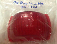 SS 104  RED  Lens  -SAE P-65 - ( DO RAY - SER DO )  NEW