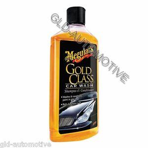 Pulizia auto -Shampoo con cera 473ml - Gold Class - MEGUIARS