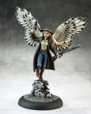 ANGE WESTERN / WILD WEST GUNSLINGER ANGEL FIGURINE REAPER MINIATURE