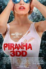Piranha 3DD Film Poster Aufdruck: 27.9x43.2cm - Piranha Poster