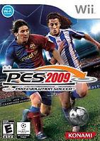 Pro Evolution Soccer PES 2009 - Nintendo Wii Video Game Complete