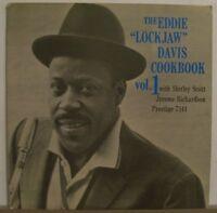 Eddie Lockjaw Davis Cookbook Vol.1 w/Scott /Richardson /Prestige/PRST7219/RVG/NM