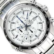 CASIO EDIFICE Alarm Chronograph Tachymeter 100M EF545D-7A EF-545D-7A Free Ship @