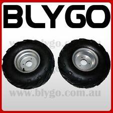 "2X 16X8- 7"" inch Wheel Rim + QIND Tyre Tire 110cc 125cc Quad Dirt Bike ATV Buggy"