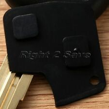 2 Button Remote Key Fob Shell Keyless Entry Switch Rubber Pad Repair for Toyota