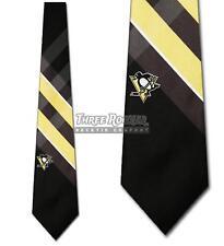 Pittsburgh Penguins Ties Mens Penguins Necktie Licensed Neck Tie NWT