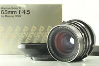 [N Mint +Hood] Mamiya Sekor C 65mm F4.5 Wide Angle Lens RB67 Pro S SD From JAPAN