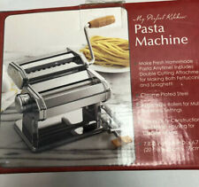 My Perfect Kitchen Pasta Machine Homemade Pasta Spaghetti Fettuccini Maker New
