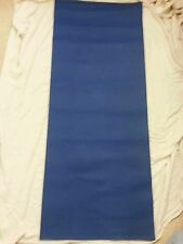 "Professional Yoga Mat Beautiful Blue 24 x 58"" Euc"