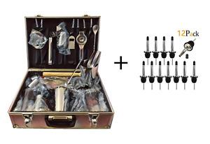 Kit barman accessori cocktail set attrezzatura bartender tool bar shaker inox