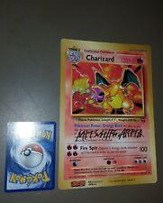 Pokemon - Charizard jumbo signed mithsuiro arita ultrararo - set base