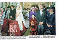 Coupure de presse Clipping 1988 (8 pages) Mariage Bianca d'Aoste