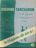Curt Mahr - Das goldene Tanzalbum für die Jugend Band 22