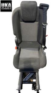 2013-2015 FORD TRANSIT CUSTOM MINIBUS FOLDING REAR SINGLE SEAT REMOVABLE #1