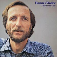 HANNES WADER - WIEDER UNTERWEGS  CD NEU