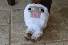 """Mindcraft Inspired Mojang Plush White Lamb Soft 6"""" Stuffed Sheep Animal Toy"""