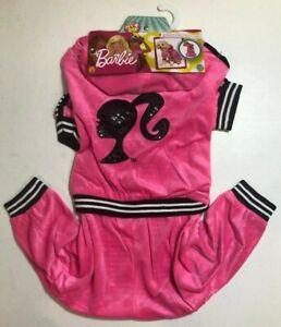 Barbie Sporty Girl Track SuitJogging Dog Costume NEW BJ