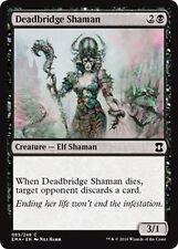 Deadbridge Shaman  x4   - NM - Eternal Masters MTG Magic Card Black Common
