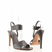 5e635d60a56 Women s Vince Shoes Gray Leather Strappy Sandal Heels Size 9 M
