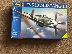 Revell 1:32 P-51B MUSTANG III