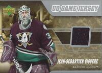 2006-07 Upper Deck Game Jerseys #JJG Jean-Sebastien Giguere Jersey - NM-MT