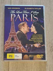 The Last Time I Saw Paris DVD Region 4 FAST POST