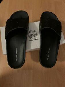 Mens Kurt Geiger Mens Sliders Size 10  Black
