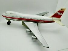 VINTAGE 1960s TWA Jumbo Jet model plane Windsor Radio TRANS WORLD AIRLINE