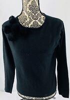 Parisian Signature Women's Black M Long Sleeve Sweater