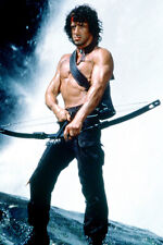 SYLVESTER STALLONE RAMBO: FIRST BLOOD PART II POSTER