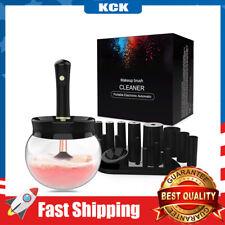 Premium Makeup Brush Cleaner Dryer Automatic Brush Cleaner Spinner Random Color