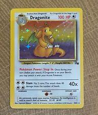 Pokemon Fossil Dragonite Holo - MINT
