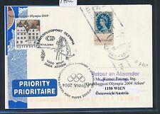 97822) AUA Olympiade So-LP Wien - Athen 13.8.2004, card GB/UK (SP ?)