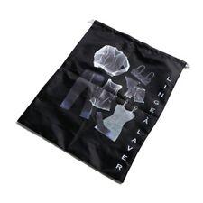 Potiron Paris Black Drawstring Travel Bag Box43 02 L