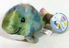 Vintage 1998 Precious Moments Tender Tails Bean Bag Plush Stuffed Animal Whale