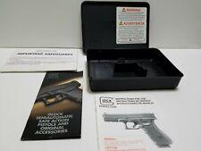 Early Gen Glock 26 Tupperware Box/Case W/Manual & Brochure