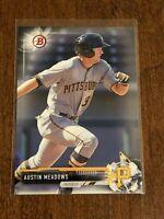 2017 Bowman Prospects Baseball Base Card - Austin Meadows - Pittsburgh Pirates