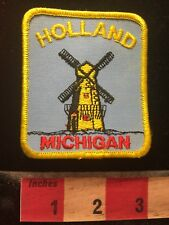Dutch Windmill Holland Michigan Patch 70KK