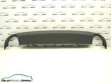 AUDI A4 B7 NEW REAR BUMPER LOWER SPOILER VALANCE TWIN EXHAUST 8E0807521H 05-08