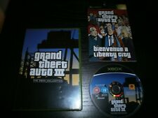 jeu XBOX PAL version Française: GRAND THEFT AUTO III (GTA 3) - Complet