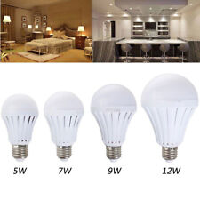 Smart LED E27 5W 7W 9W 12W Emergency Light Bulb Rechargeable Intelligent Lamp
