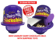 Cadbury Dairy Milk Chocolate Lickables Chocolate With Suprise Toys Free Shipping
