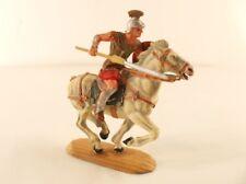 Elastolin n° 8454 Magister zu Pferd Romain cheval 7 cm ancien rare